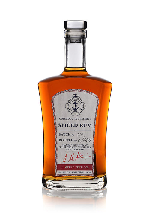 Royal New Zealand Yacht Squadron Commodore's reserve Spiced Rum