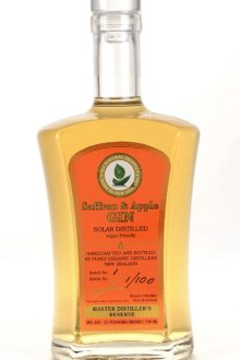 saffron-and-apple-gin-master-distilled-in-puhoi-new-zealand-limited-edition-small-batch-organically-grown-ingredients